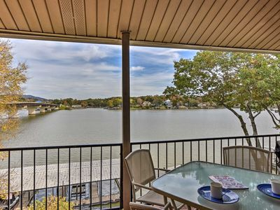 Photo for NEW! Hot Springs Condo Situated on Lake Hamilton!