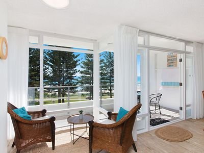 Photo for Rainbow Pacific Unit 9 - Right on the beach in Rainbow Bay Coolangatta Gold Coast