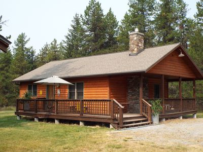 Photo for Great little cabin in woods.