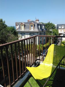 Photo for Villers sur Mer - Apartment 4/6 Pers. - Town Center - 100 M from the beach
