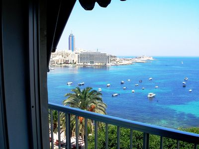 Photo for Ideally Located Seafront Apartment with unobstructed Stunning Sea Views.