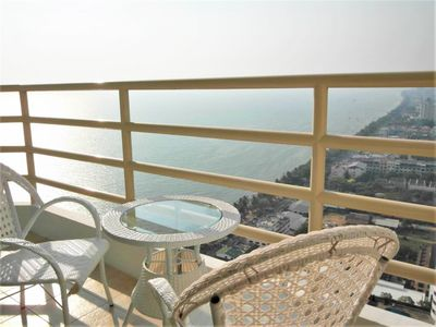 Photo for 30th floor beach condo with stunning sea views
