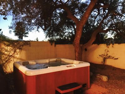 Photo for Roomy Tucson Home w/ Private Hot Tub, Fire Pit, Grill, Free WiFi, & dogs ok!