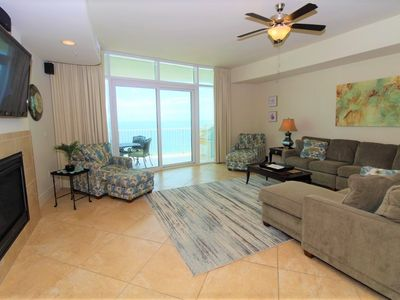 Photo for Turquoise C704- Beach Front w/Large Terrace & Hot Tub
