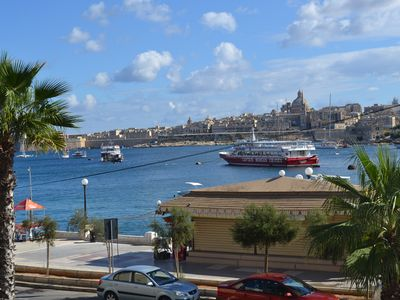 Photo for Sliema sea view, sea view in the most in Malta area, private balcony, air conditioning