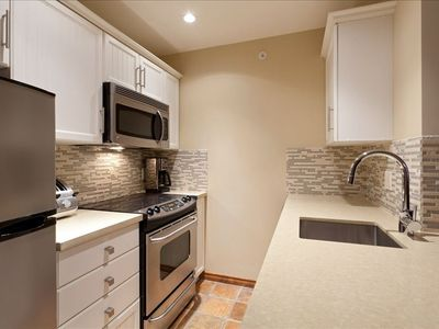 Renovated fully equiped kitchen.