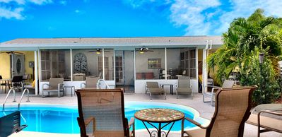 Photo for AB 3/2 PRIVATE pool home sleeps 10! Just minutes to Stadium, Beaches, PGA