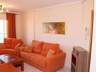 Photo for New apartment with WiFi, swimming pool, private parking next to the beach