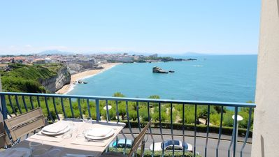Photo for 2BR Apartment Vacation Rental in Biarritz, Pyrénées-Atlantiques