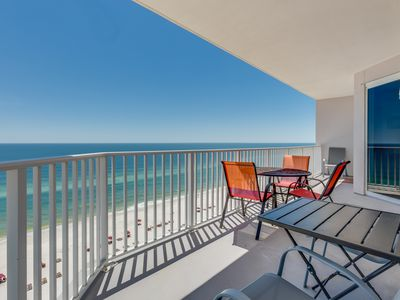 Photo for Corner Condo In Perdido Key! Gulf-Front Pool, Exercise Room, Beach Chairs!