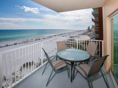 Beach front deck - unobstructed west view