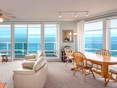 Photo for Only $170/Night** - Stunning End Unit, 180° Oceanfront Views, w/ Full Coast View