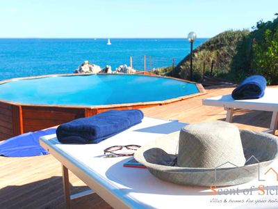 Photo for Idyllic Corner Of Paradise, With Private Access To The Sea And Swimming Pool