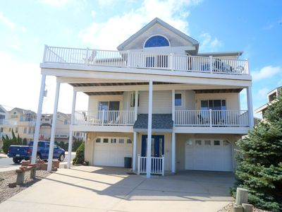 Photo for OCEAN VIEWS!!!  Over sized 5 bedroom, 4 bath townhouse in Beach Block with Ocean Views.