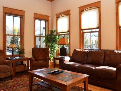 Photo for Upstairs at Blue Front: 2 BR / 2 BA condo in Breckenridge, Sleeps 6