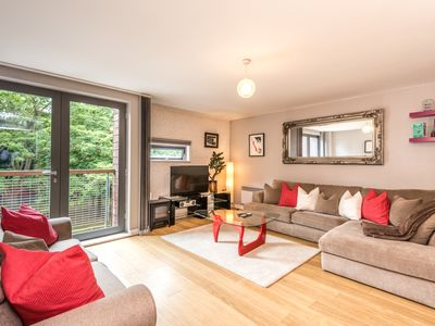 Photo for Cosy Central Apt. with Balcony by Liverpool One