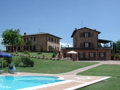 Photo for Le Ville di Gio is not only the perfect location for those wishing to spend their holidays in the wonderful Tuscany but also an unforgettable location for guests wishing to arrange their special event such as wedding, anniversary, party, meeting.