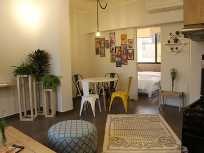 Photo for Comics Corner | Mar Mikhael, a spacious 2 bedrooms apartment in Beirut
