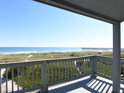 Photo for Patch of Paradise - Oceanfront duplex with a dock, sleeps 9