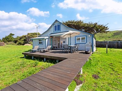 Photo for NEW LISTING! Oceanfront cottage w/deck, stunning 180-degree views & 7.5 acres