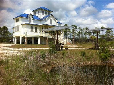 Discover House Carrabelle, Florida, and Adjacent Fish Camp