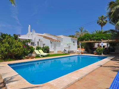 Photo for Detached Villa Close to Arenal Beach, Javea -Stunning, Very Private Villa & Pool