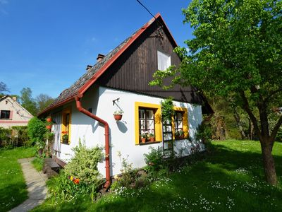 Photo for Cozy Holiday Home in Knežice with Large Garden