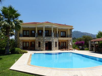 Photo for Villa Zeytin Koru, Dalyan With Large Private Pool and amazing tombs view.
