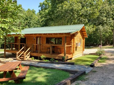 Photo for 1BR Cabin Vacation Rental in Hot Springs, Arkansas