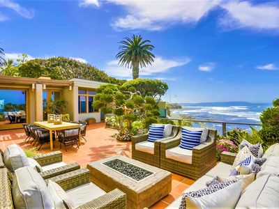 Photo for Prime clean OCEANFRONT location w/Fire Pit & Spa in beautiful BIRD ROCK La Jolla
