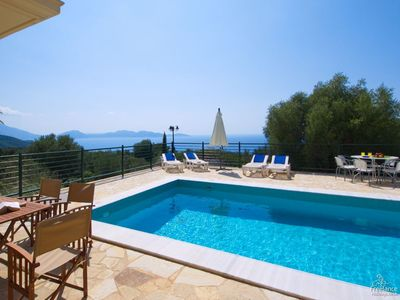Photo for 3 bedroom Villa, sleeps 6 in Touliáta with Pool, Air Con and WiFi