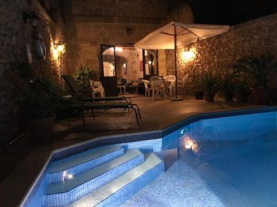 Photo for Spacious farmhouse with large pool in Xaghra, Gozo