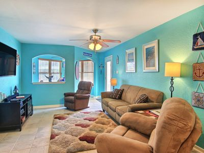 Photo for Pawsitively Paradise: Pool, Close to Beach, Private Boardwalk, Sunset VIEWS