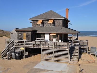 Photo for Oceanfront, classic beach cottage with Awesome Amenities - H3