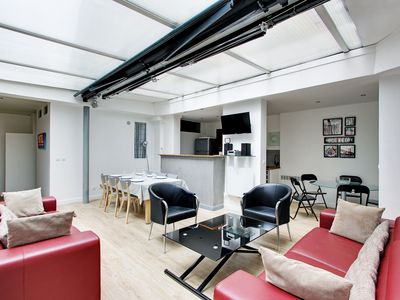 Photo for 120sqm 3-BDR / 3-BR loft in Oberkampf