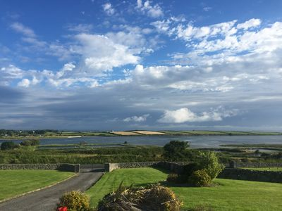 Photo for Tranquil Flaggy Shore Sea Views on Wild Atlantic Way, near Kinvara