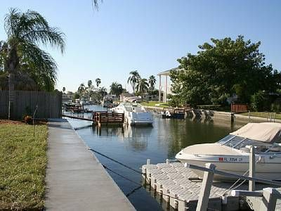 Fabulous Waterfront Gulf Access Home with Spa