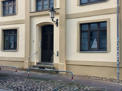 Photo for Welcoming Apartment with Terrace in Wismar