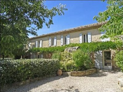 Photo for South Luberon, T1 ** in Charming Mas, 2 people. Ideal for hikers
