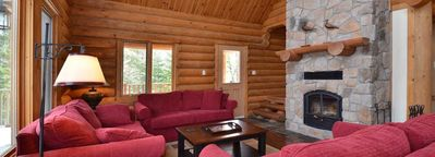 Photo for Wood-burning Fireplace + Incredible Balcony | Private Hot Tub
