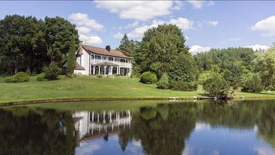 Photo for Modern Farmhouse w/ Private Swimmable Lake, Private Hiking Trails, Mt. Snow Golf
