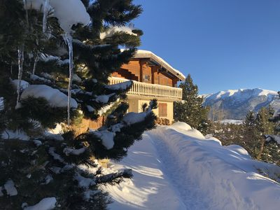 Photo for Grand Chalet 200 m from the slopes