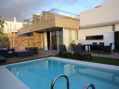 Photo for Ultra Modern Villa, with Private heated Pool, Fully Air-Conditioned