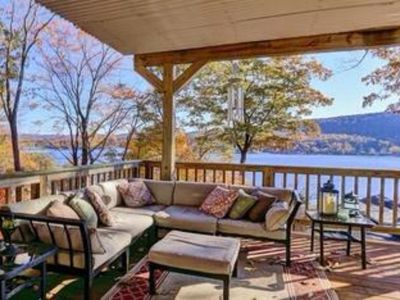 Photo for Luxury Lake House in the Hudson Valley Just 1 hour from NYC!