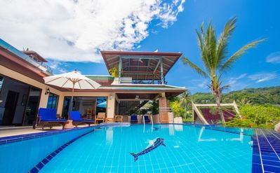 Photo for Villa Malee - Luxury full staff. 4 bed Villa, Chef, Ocean view and infinity pool