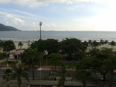 Photo for Ap. THE SEA FRONT WITH AIR COND / -. PANORAMIC VIEW Santos - Boqueirao