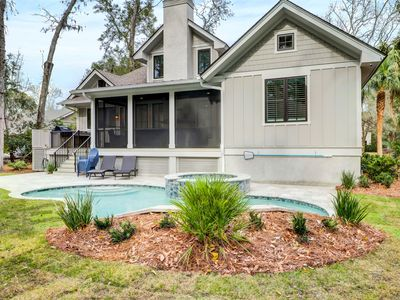 Photo for New construction home w/ private pool - close to beaches!