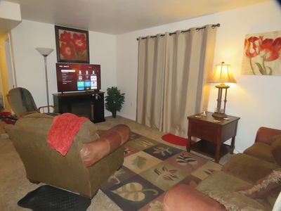 Photo for 3D Redcliff modern condo Save $ by # of people: pool & hot tub-good dog/420 ok