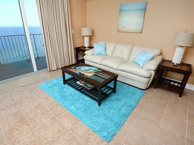 Photo for Newley Renovated  Great 2bedroom 3 bath condo Sleeps 8 1/2 MILE  to Pier Park