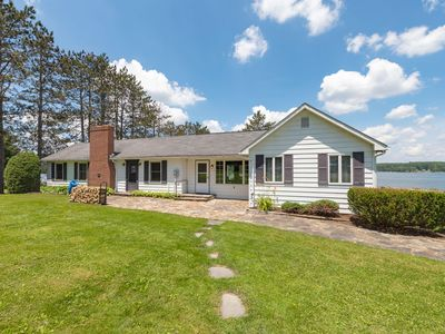 Photo for Hickory Ridge- Pet Friendly Lakefront home with Large Level Lawn